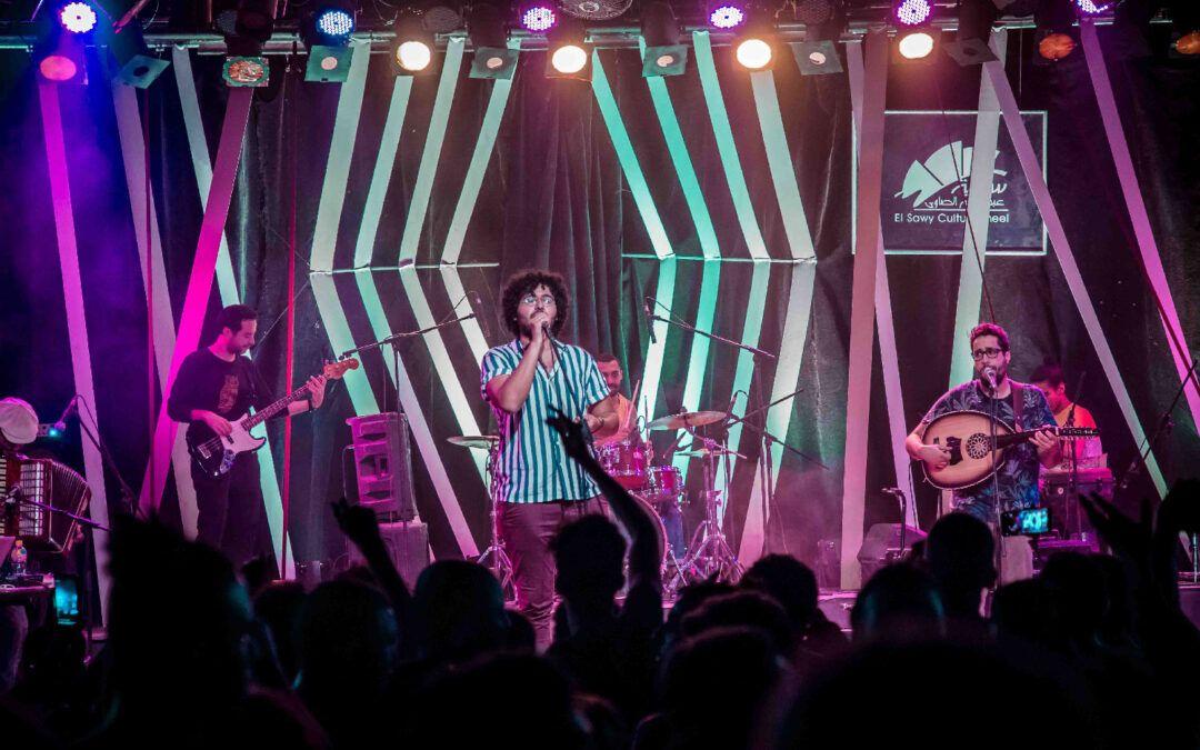 """بالصور.. """"هوس"""" يحتفل مع الجمهور بإطلاق ألبوم """"بطل خارق"""" في الساقية"""